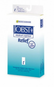 Jobst 114745 Relief 20-30 mmHg Unisex Closed Toe Knee Highs with Silicone Top Band - Size- Beige X-Large