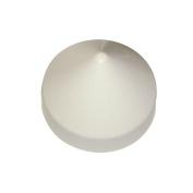 Dock Edge Cone Head Piling Cap 20cm White