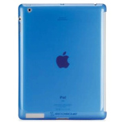 Scosche glosSEE P2 Flexible Rubber Case for iPad 3 and iPad2, Blue