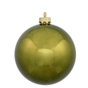 60ct Shiny Olive Green Shatterproof Christmas Ball Ornaments 2.5""