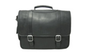 David King & Co 119B Porthole Brief with Inside Organizer- Black