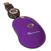 PC Treasures 07220 Mighty Mini Mouse- Retractable-purple