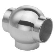 Hardware Distributors L44 704 112 1-.127cm . Ball Tee - Satin Stainless Steel