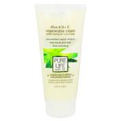 Pure Life Soap 0303784 Aloe and Vitamin E Regenerative Cream - 200ml