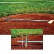 Collegiate Pacific 1148992 Mound Slope Gauge Baseball-Softball Field Maintenance