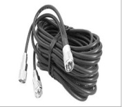 Pocomm PPP18XJ 18 ft. Pl259 To Pl259s Co-Phase Harness