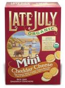 Late July 37885 Organic Mini Cheeze Sandwich Cracker
