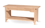 International Concepts BE-36 36 in. Long Brookstone Bench