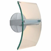 Access Lighting 50511-CH-8CL Phoebe 1 Light 8mm Clear Glass Wall Fixture - Chrome