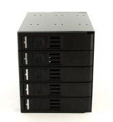 Athena Computer Power BP-TL3051SAC Trayless 5 x 3.5'' SAS/SATA- 3 x 5.25 Bay for 4 HDD