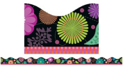 Scholastic Teaching Resources SC-541762 Flower Bursts Scalloped Trimmer