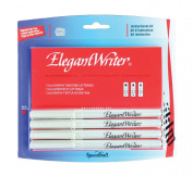 Speedball Art Products 385483 Elegant Writer Calligraphy& Fine Lettering Markers 4-Pkg-Fine Medium Broad& Scroll Points