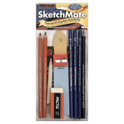 General Pencil SketchMate Charcoal and Graphite Drawing Kit