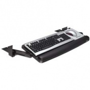 3M Commercial Office Supply Div. MMMKD90 Underdesk Keyboard Drawer- Adjustable- 23in.x14in.- Gray-Black