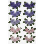 Martha Stewart Dimensional Stickers-Hydrangeas