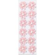 Martha Stewart 3D Stickers, Pink Cosmos