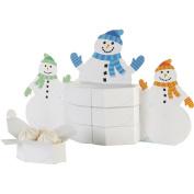 Snowman Favour Box Centrepiece
