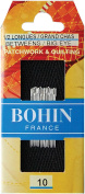 Bohin 323 Big Eye Hand Quilting Needles-Size 10 20-Pkg