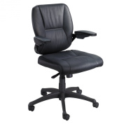 Safco Products Incite Mid Back Executive Chair, Black, 4471BL