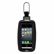 SOUND AROUND-PYLE INDUSTRIES PCIC45 Ultimate Protection Waterproof Universal Sport Case with Carabiner Clip - Black