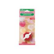 Clover Pom-Pom Maker, Small Heart, 3.8cm x 4.1cm x 2.5cm