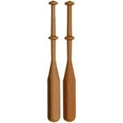 Lacis 445293 Square Lace Bobbins 3-8 in. x 4 in. Hardwood 24-Pkg-