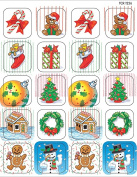 Teacher Created Resources TCR1256 Christmas Stickers