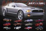 Hot Stuff 2477-24x36-CB Mustang Evolution Poster