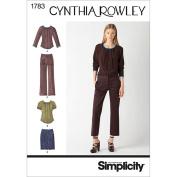 Simplicity Pattern Misses' Sportswear, Blouse/Pants/Mini Skirt,