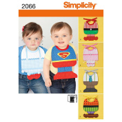 Simplicity Pattern Babies' Bib Costumes, One Size