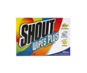 SC Johnson 02246 Shout Instant Stain Remover Wipes - 12 Ct - Pack Of 12