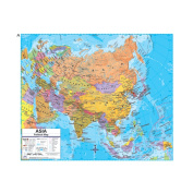 Universal Map 762546972 Asia Advanced Political Deskpad Map Set