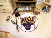 FANMATS 112 Minnesota State - Mankato Baseball Rugs 70cm . diameter