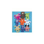 McCall's Pattern Creature Dolls, 1 Size Only