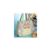 McCall's Pattern Tote Bag in 3 Sizes, 1 Size Only