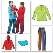 McCall's Pattern Misses' and Men's and Teen Boys' Tops, Pants and Dog Blanket, Y