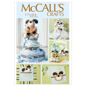 McCall's Pattern Burp Cloth, Pillow in 2 Sizes, Blanket, Toys, Sack and Dog Decoration, One Size