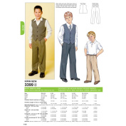 Kwik Sew Pattern Pants and Vests, XS (4, 5), S (6), M (7, 8), L (10), XL