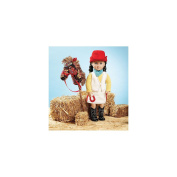 Kwik Sew Pattern Giddyup Doll Clothes and Accessories, 46cm Doll