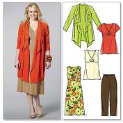 McCall's Women's Jacket, Tunics, Dress and Pants, RR