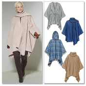 McCall's Pattern Misses' Ponchos and Belt, Y