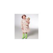 Kwik Sew Pattern Children's and Doll Raincoats, (XXS, XS, S, M, L) and 46cm Doll