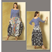 Vogue Pattern Misses' Top and Skirt, A