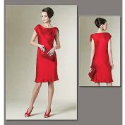 Vogue Pattern Misses' and Misses' Petite Dress, EE