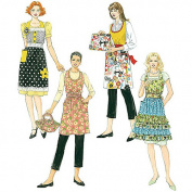 McCall's Pattern Misses' and Women's Aprons and Casserole Carriers, RR