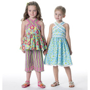 McCall's Patterns M6312 Children's/Girls' Top, Dress, Belt and Capri Pants, Size CDD