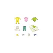 Kwik Sew Pattern Doll Clothes, Fits 40.6cm Baby Dolls