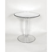 Kirch FD502CLEAR Space Tulip Side Table - Clear