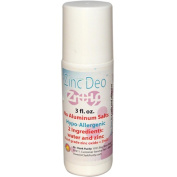 Dr. Clarks Purity Products 0769398 Zinc Deo Roll-On Deodorant 3 fl oz - 3 oz