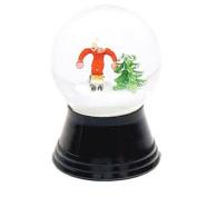 Small Skier Snow Globe